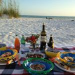 North Lido is the perfect place for a picnic tucked away in the sand dunes, close enough to the