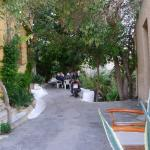 on the way up to the Akropolis from Plaka