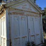 The only iron burial at Lafayette Cemetery - a site for many movies