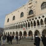 Gothic exterior, doge's palace
