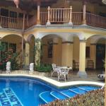 Inside the courtyard of Hotel Colonial.