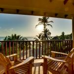 View from the rooms at Belizean Dreams Resort in Hopkins Belize