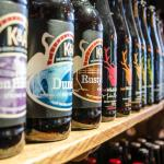 Over 100 bottled beers to drink in or take away