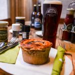 Delicious hot pies & BEER