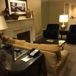Living room of Congressional Suite