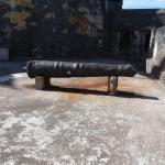 A very old cannon.