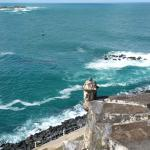View from El Morro Men's Room balcony... BREATHTAKING!