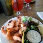 shrimp with tequila lime sauce