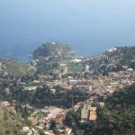 View from Taormina town