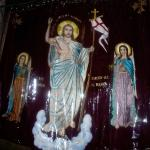 Other side of the wall of Jesus's Tomb, The Resurration