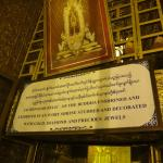 One of Buddha's relics.