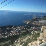 Great views from the Dubrovnik Cable Car