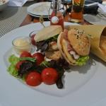Typical lunch - very good food