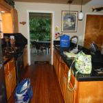 Kitchen leading to the lanai
