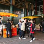 We're only moments away from the famous Borough Markets