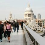 Take a short stroll to the Millennium Bridge, Tate Modern & St Paul's Cathedral
