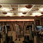 1 of 2 fitness rooms, well-equiped