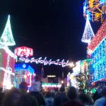 Family Of Lights show during the holiday season