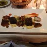 Duo of Scallops and Braised Short Ribs