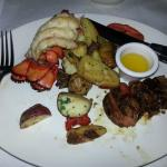 Medallions (cooked medium) and lobster- excellent