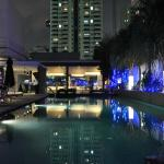 Pool at Night