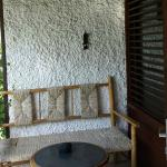 Room #7 Corner of our terrace seating area