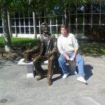 Me and Abe