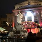 Inside the Gendarmenmarkt Christmas market