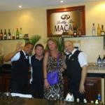 Hotel Lobby bar! Great service from #1 Bartenders, Juan and Willey!!!