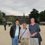 2012 me, Herman and Roberto in Milan