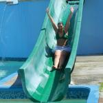 Water slides were a blast!