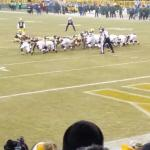 Great seats at Lambeau Field,  a must see for ANY football fan
