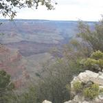 Breath taking view of the Grand Canyon.