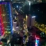 Night-time from the skydeck