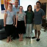Recent Guests from New Zealand and Japan