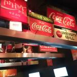 some of the advertising of coca cola