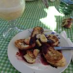 I found a new reason for living... Stuffed French Toast that is to die for!!