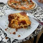 lasagna and pizza very good too