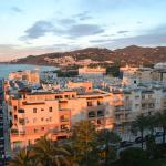 sun up on Nerja