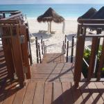 Steps to beach from Casita