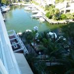 View of Marina from Balcony in Room