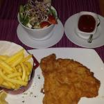 Wienerschnitzel....very good