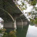 view from under the  bridge