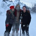 Eric, Gayle, and a Yule Lad!