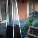 Coolist patio heater that I have ever seen, I want 1 for my house