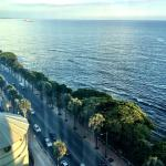View of Malecon from the room.