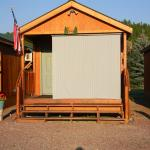 Moose Cabin (sunshade in front of window)