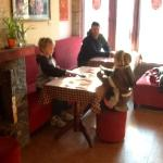 Breakfast and cards at Sapa Elegance