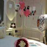 Beautiful room with decorations