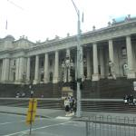 Treasury Building view from City Circle tram